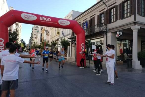 """Run Greece 2021"" - Κάτω από διαφορετικές συνθήκες επέστρεψε στην Πάτρα η μεγάλη γιορτή του αθλητισμού (pics+video)"