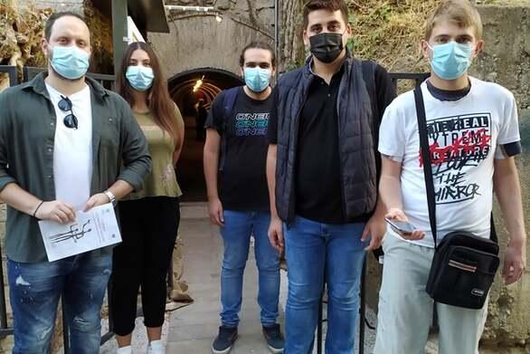 Νεολαία ΣΥΡΙΖΑ Αχαΐας: Επίσκεψη στο καταφύγιο