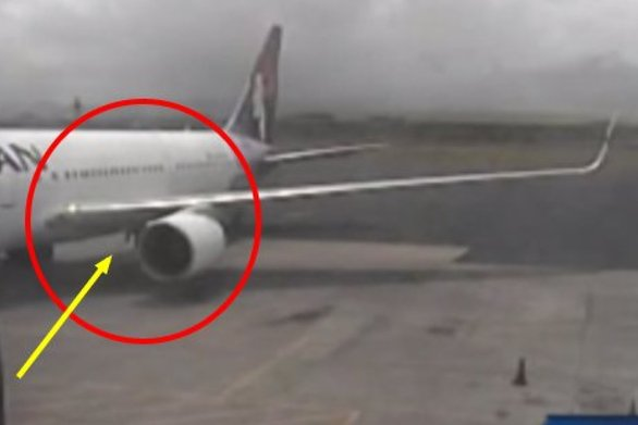 15χρονος ταξίδεψε για 5μιση ώρες στις ρόδες αεροπλάνου (video)