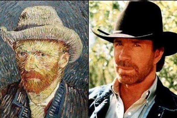 Απίστευτες ομοιότητες διάσημων με σωσίες τους από το παρελθόν! (pics+video)