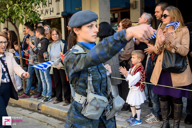 Παρέλαση 25ης Μαρτίου στην Πάτρα 25-03-17 Part 6/6
