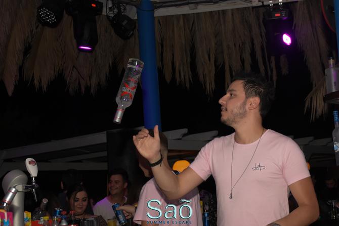 Greek Night at Sao Beach Bar 19-07-18 Part 2/2