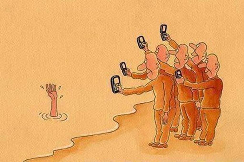 Image result for γελοιογραφίες προβληματισμού περιβαλλον