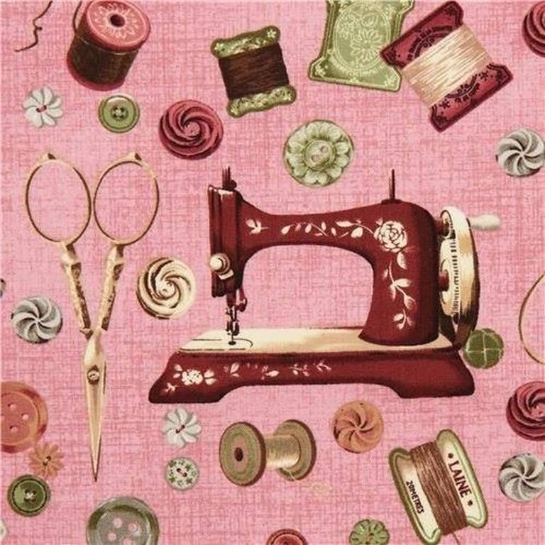 Швейная машина для открыток