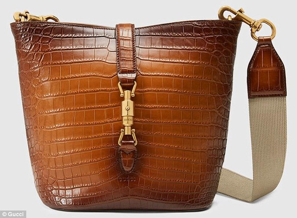 Η πιο... οικονομική τσάντα από δέρμα αλιγάτορα από τον οίκο Gucci 5c6d45e7365