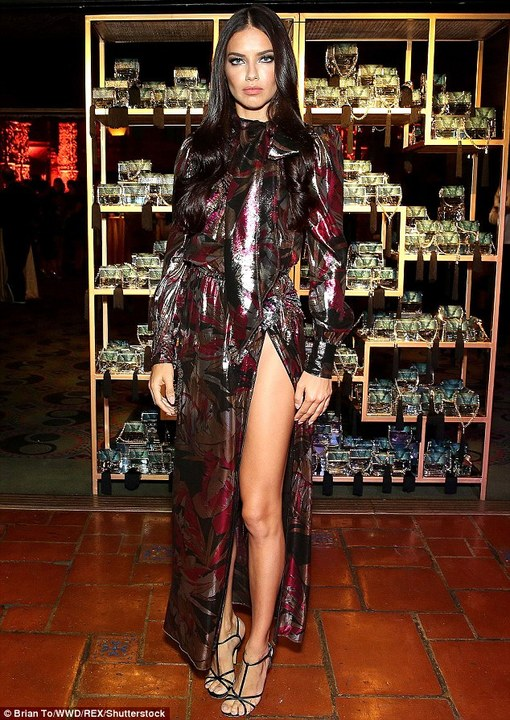 833520879c ... Εκθαμβωτική η Adriana Lima στο δείπνο του Marc Jacobs (pics) ...
