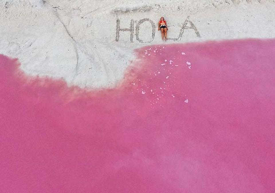 Η ροζ λιμνοθάλασσα του Μεξικού που εντυπωσιάζει (pics+video ... 13e2b19d44e