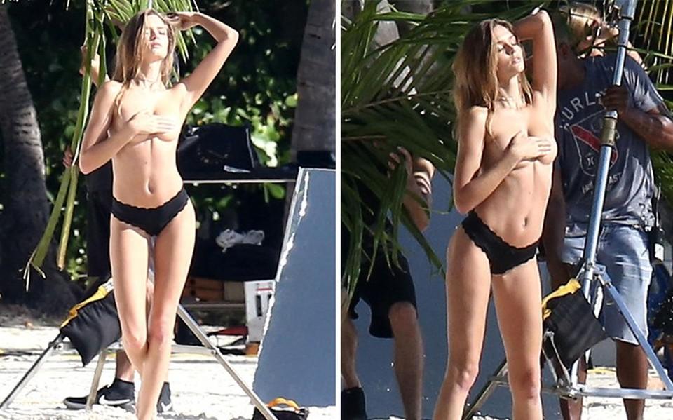 ... Αέρινη και topless η Josephine Skriver (pics) bc22dc5ad53