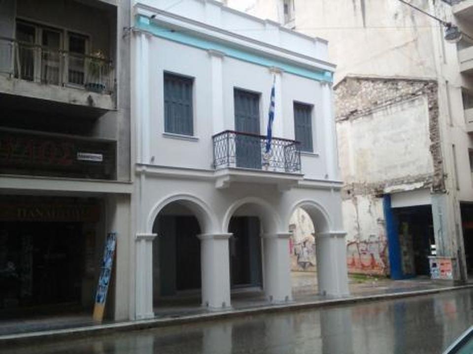 Αποτέλεσμα εικόνας για σπιτιού που γεννήθηκε ο Κωστής Παλαμάς, επί της οδού Κορίνθου στην Πάτρα.