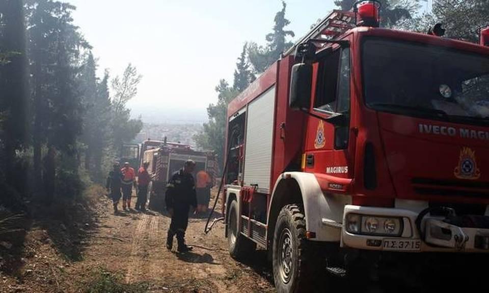 dc3806dea1 Φωτιά στο Ίλιον Αττικής. Στο σημείο 7 οχήματα της πυροσβεστικής